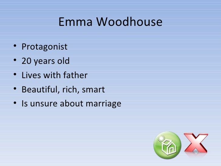on characterization in emma by jane