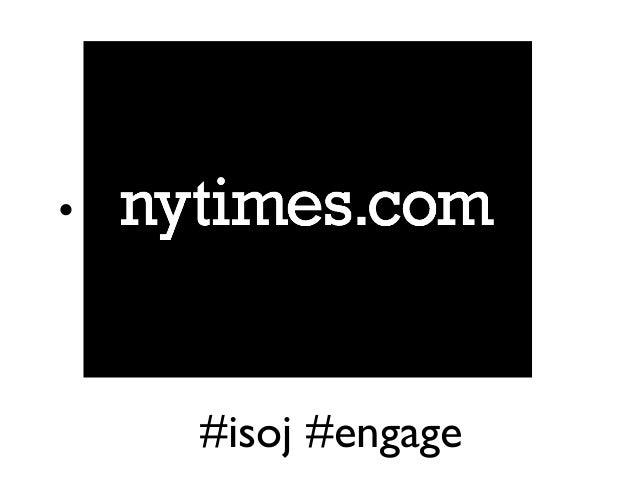 #isoj #engage •
