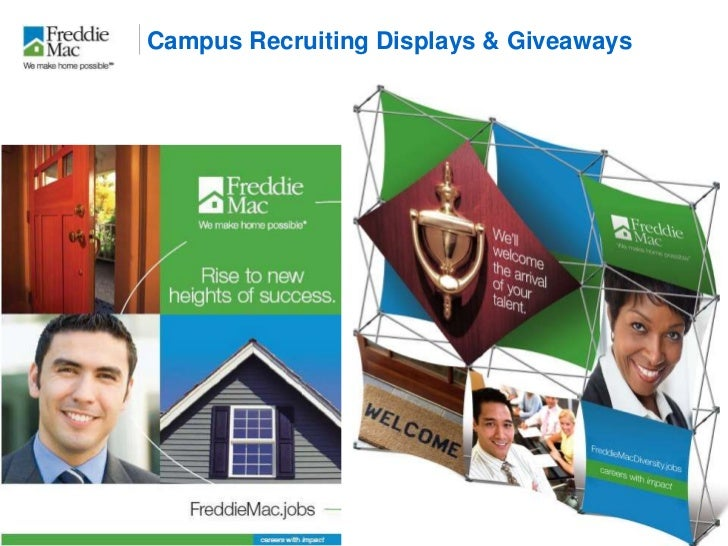 On campus recruitment giveaways