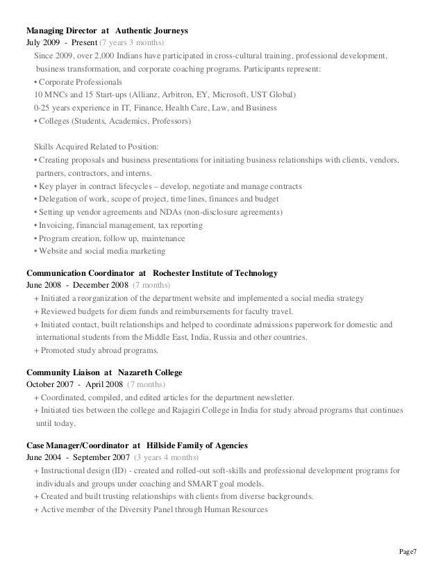 finance professional resumes