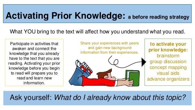3 Steps to the Perfect Read Aloud & FREEBIE! - Teacher KARMA  Prior Knowledge Reading