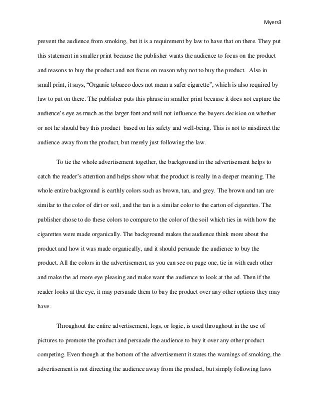 Visual Analysis Paper  Underfontanacountryinncom Visual Analysis Paper Topics For Essays In English also Thesis Examples For Essays  Persuasive Essay Topics For High School Students