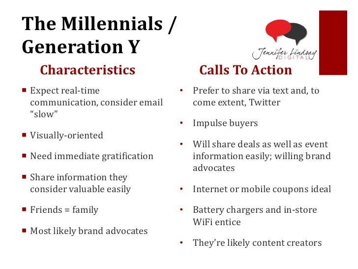 characteristics of the millennium generation Millennial generations characteristic perception adaptability all generations  perceived their generation as adaptable generation xers and millennials.