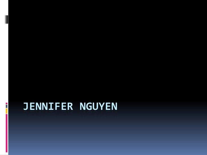 Jennifer Nguyen<br />