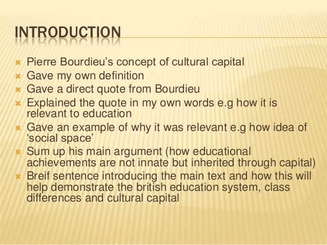 Jennifer price education system and cultural capital essay plan