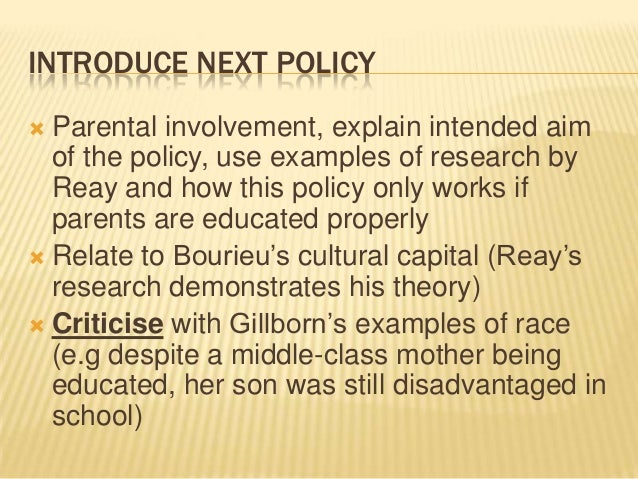 parental involvement 2 essay Senior project essay on parent involvement in education.