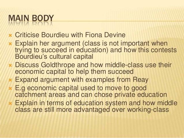 Education System Analysis Essay