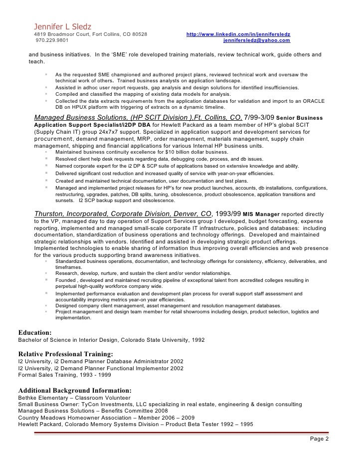 Fantastic Demand Planner Resume Examples Image - Example Resume ...