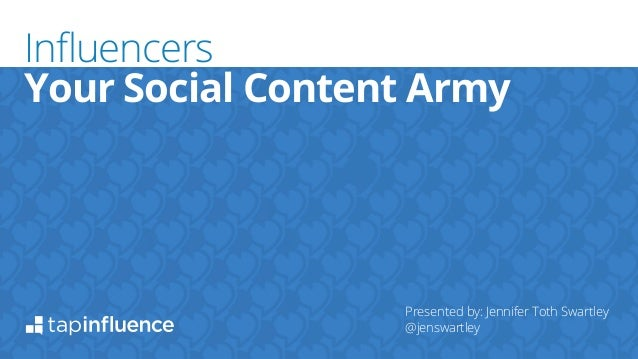 Your Social Content Army  !