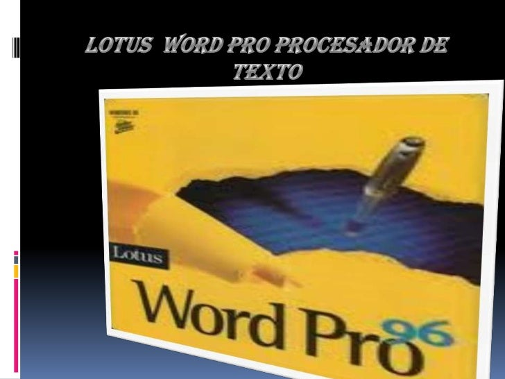 Lotus Word Pro Windows 7 Lotus Word Pro For Windows 7 64