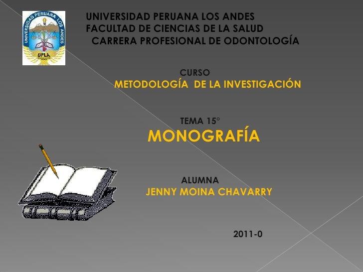UNIVERSIDAD PERUANA LOS ANDES<br />FACULTAD DE CIENCIAS DE LA SALUD<br />  CARRERA PROFESIONAL DE ODONTOLOGÍA<br />CURSO<b...