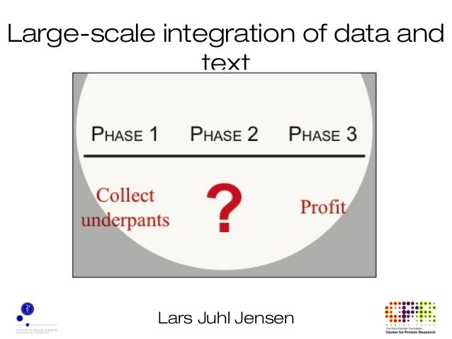 Lars Juhl Jensen Large-scale integration of data and text