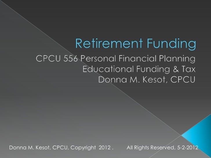 Donna M. Kesot, CPCU, Copyright 2012 .   All Rights Reserved, 5-2-2012