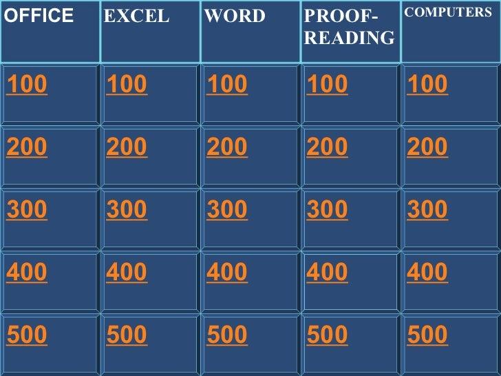 200 300 400 100 200 300 400 500 100 200 300 400 500 100 200 300 400 500 200 300 400 500 100 OFFICE EXCEL WORD PROOF- READI...