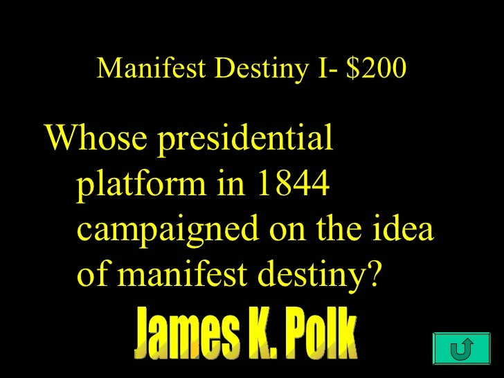 an introduction to the idea of manifest destiny in the united states Newspaper editor john o'sullivan coined the term manifest destiny in 1845 to describe the  the entire southwestern corner of the united states was controlled by .