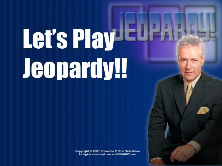 Cell Jeopardy - Alexandria