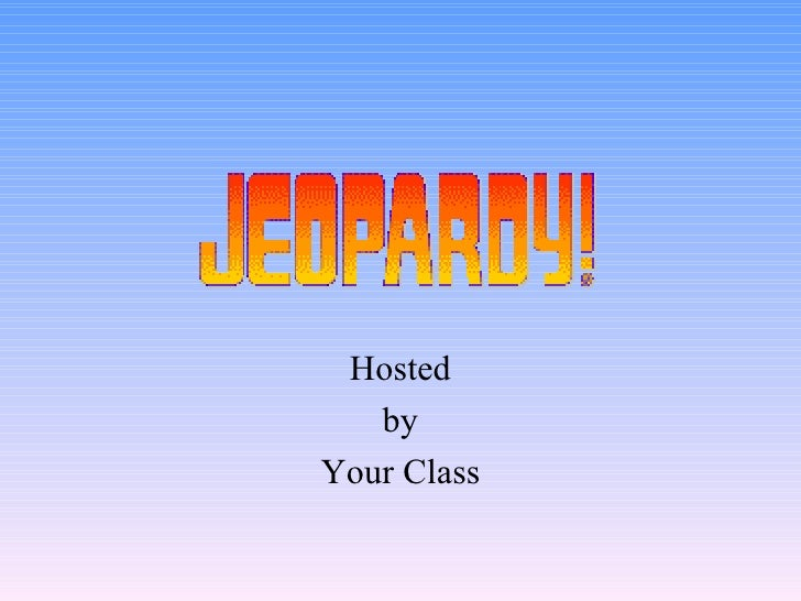 Hosted by Your Class