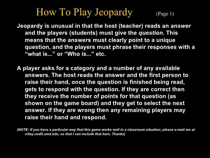 Jeopardy Template V2 2