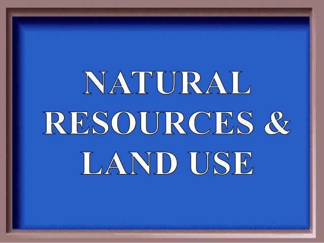 Natural Resources Found In Korea