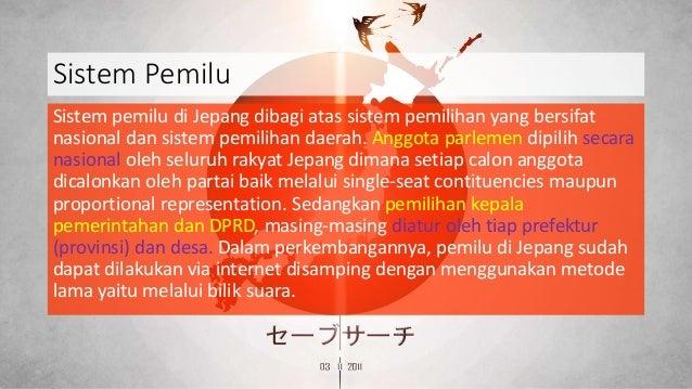 perbandingan sistem pemerintahan indonesia dengan jepang