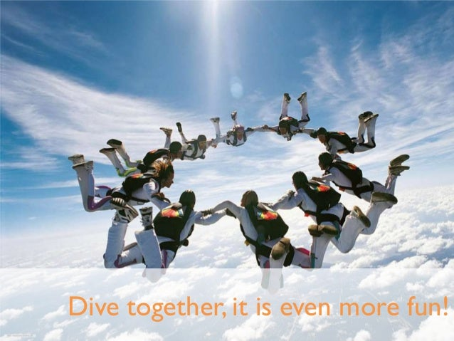 Dive together, it is even more fun!