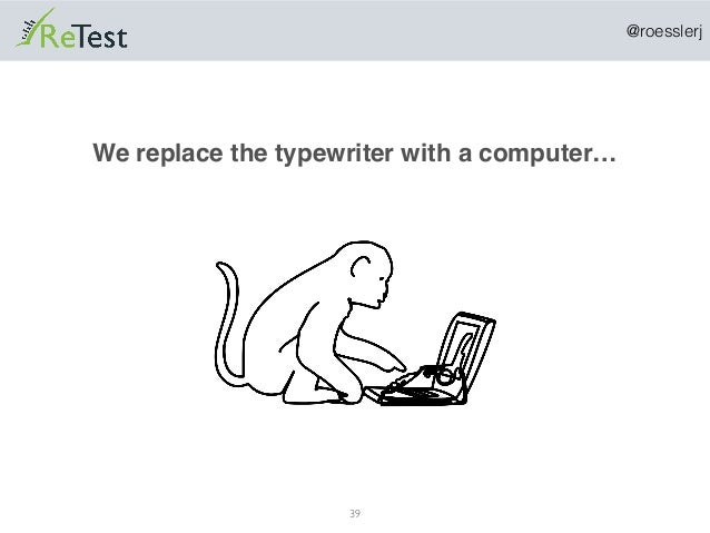 @roesslerj 39 We replace the typewriter with a computer…