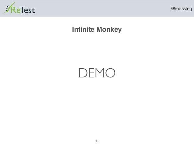 @roesslerj 41 DEMO Infinite Monkey