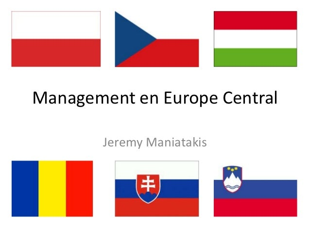Management en Europe Central        Jeremy Maniatakis