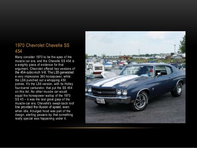 Jeremy Bednarsh Lists The Top Classic American Muscle Cars