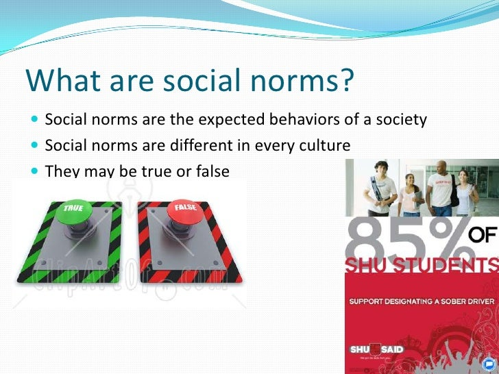 social norms socially acceptable or social Maladjusted students choose not to conform to socially acceptable rules and norms social maladjustment serious emotional social maladjustment topic brief.