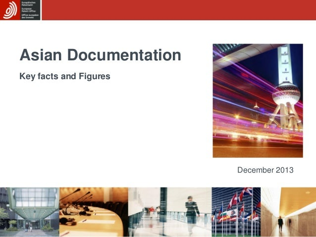 Asian Documentation Key facts and Figures  December 2013