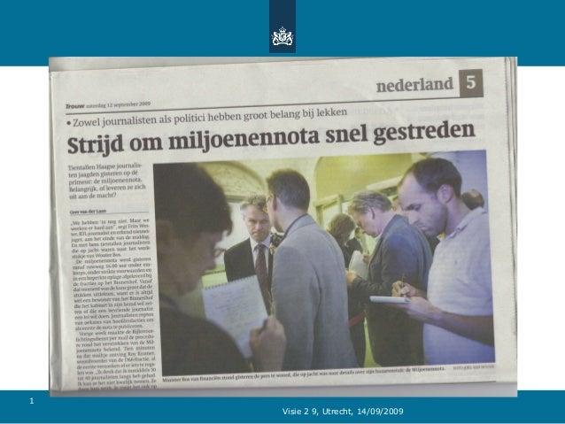 Visie 2 9, Utrecht, 14/09/2009 1