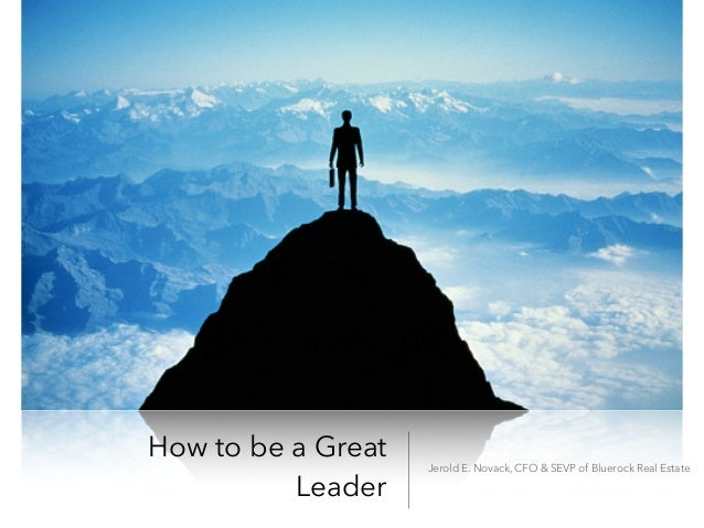 "how to become a good leader The 21 indispensable qualities of a leader: john c maxwell ""if you can become the leader you ought to be on the even good leaders don't display it all."