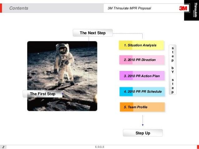 PR 제안서 샘플 Slide 2