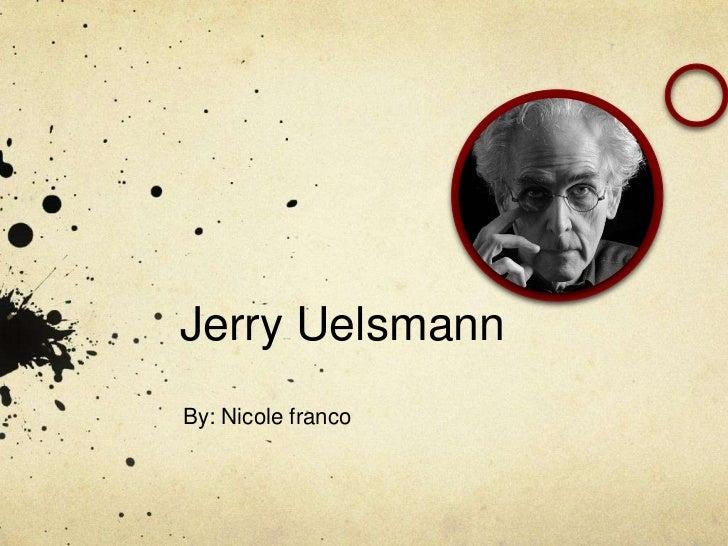 Jerry UelsmannBy: Nicole franco