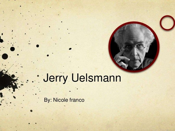 Jerry UelsmannBy: Nicole franco