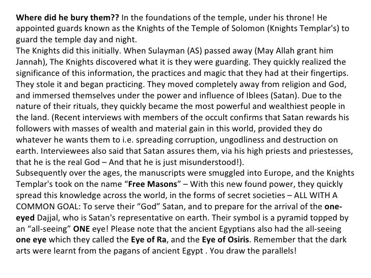 Jerusalem - What the Zionists Are Doing… And Do You Know Why? Slide 3