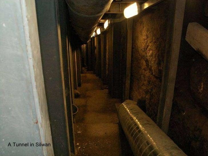 A   Tunnel in Silwan