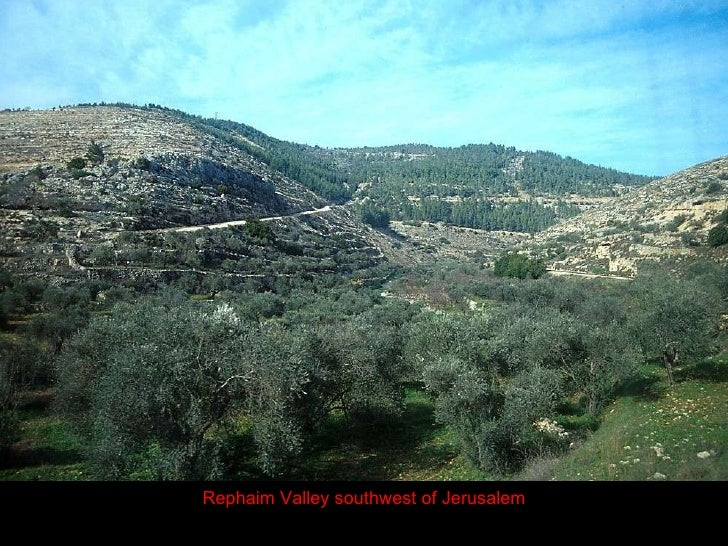 Image result for The valley of Rephaim