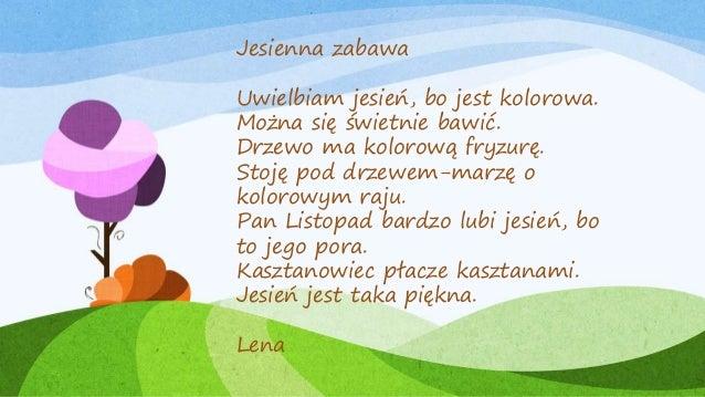 Jesienna Poezja