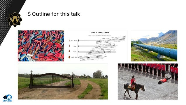 Security pitfalls in script-able infrastructure pipelines. Slide 3