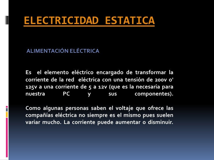 Electricidad estatica for Como evitar la electricidad estatica