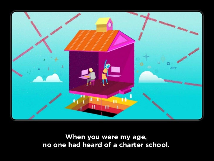 No one could imagine a virtual school.