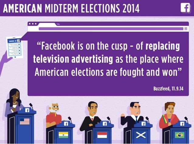 """Facebook is on the cusp - of replacing television advertising as the place where American elections are fought and won"" B..."