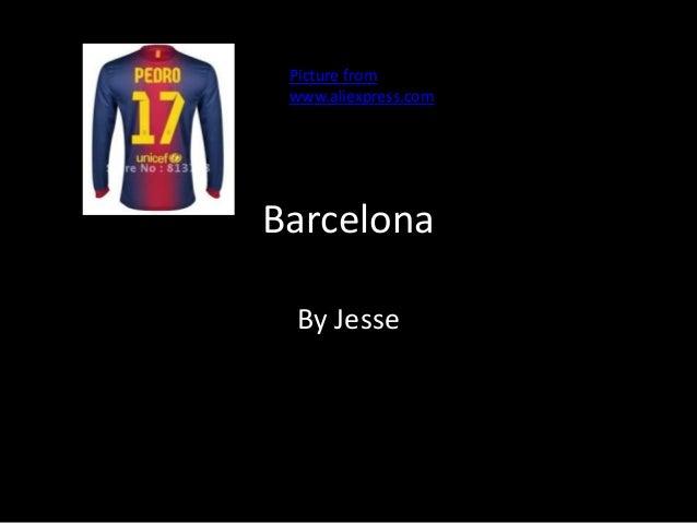 BarcelonaBy JessePicture fromwww.aliexpress.com
