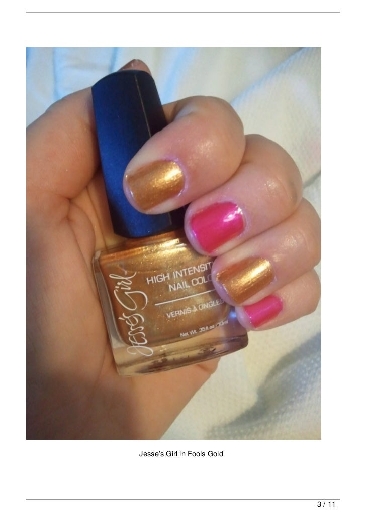 Jesse's Girl Nails $4- a great luxury for less alternative!