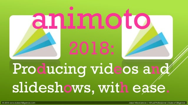 Animoto tutorial 2018: producing videos and slideshows, with ease!