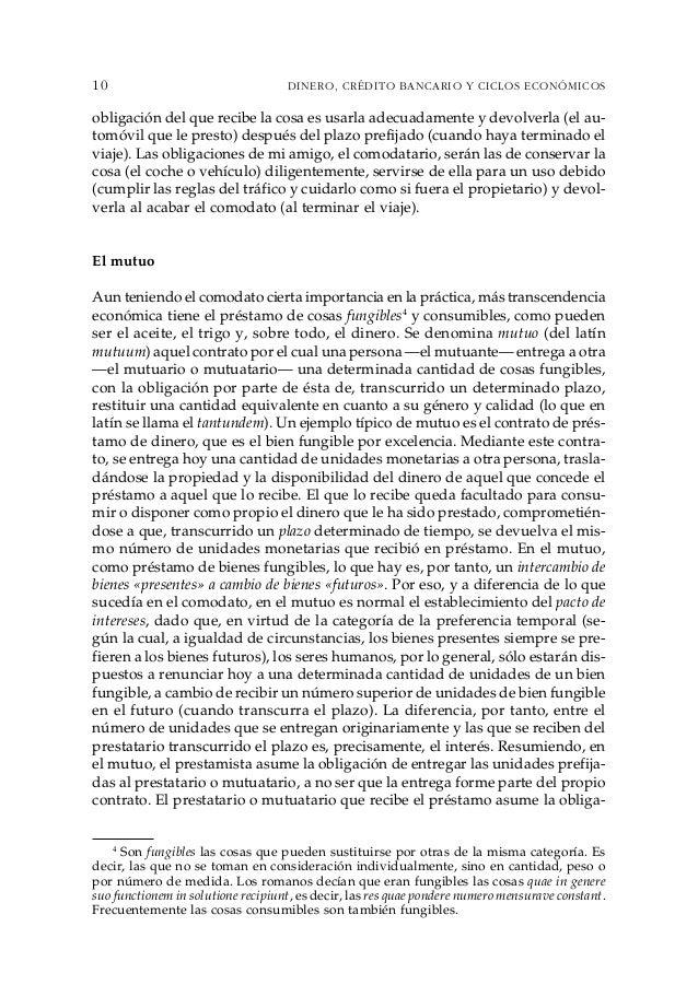 Dinero Credito Bancario Y Ciclos Economicos Huerta De Soto