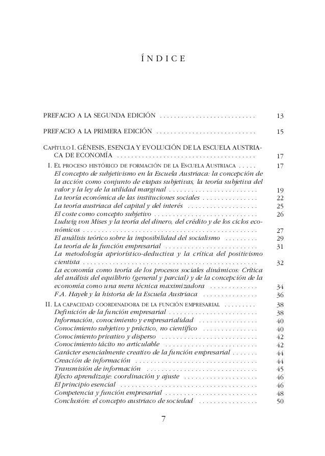 ESTUDIOS DE ECONOMÍA POLÍTICAÍNDICE III. CONCLUSIÓN: EL ACTUAL PROGRAMA DE INVESTIGACIÓN DE LA ESCUELA AUS- TRIACA Y SUS P...