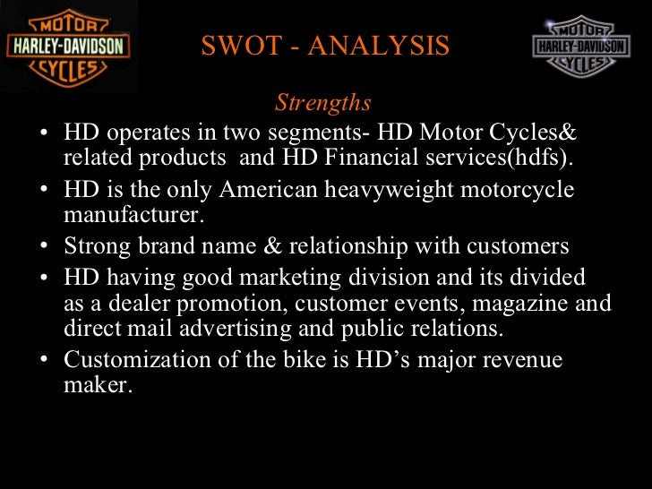 Directions: Create a Feasibility Study for Harley-Davidson